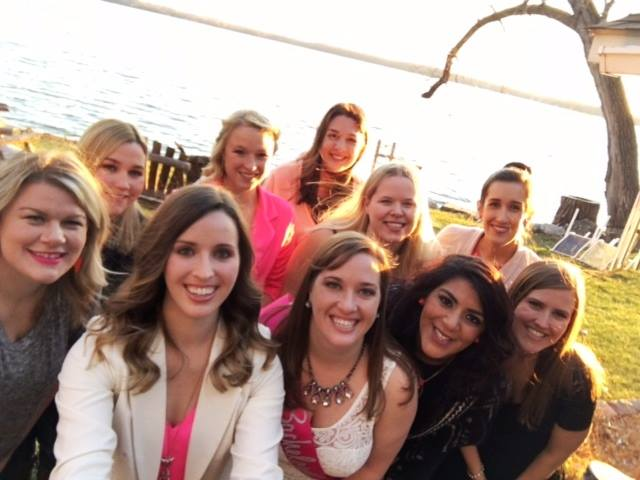 A photo from Caitlin's bachelorette party.